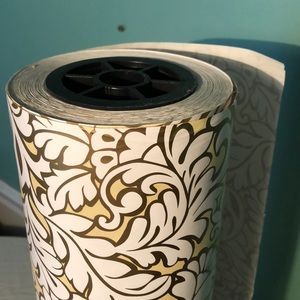 "Other - Massive roll of  ""damask blooms"" wrapping paper"